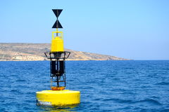 Buoy in Gozo, Malta Royalty Free Stock Photos