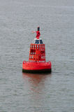 Buoy. A buoy in the harbor of Ostend Stock Photo