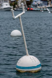 Buoy in harbor Stock Image