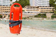 Buoy of a lifeguard Stock Photography