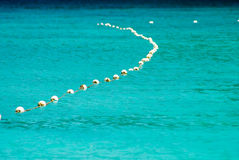Buoy line Stock Image