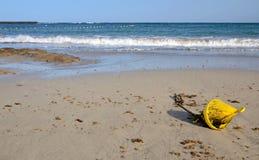 Buoy marker on the beach Stock Photography