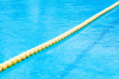 buoy on pool Stock Images