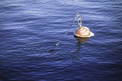 A buoy in the port Royalty Free Stock Images