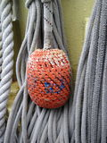 Buoy and rope Stock Photos