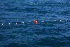 Buoy in the sea Stock Images