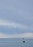 Buoy on the sea Stock Photo