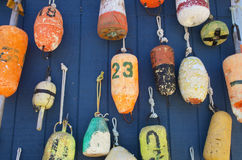 Buoy Wall Royalty Free Stock Photography