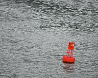 Buoy in the water Royalty Free Stock Image