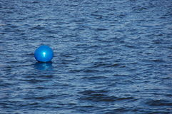Buoy in the water Royalty Free Stock Images
