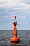 Buoy on the water Royalty Free Stock Images