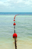 Buoy on the water Royalty Free Stock Photos