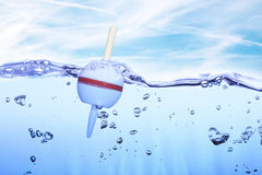 Buoy in water Stock Photography