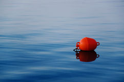 Buoy on water Royalty Free Stock Images