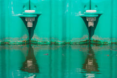 Buoyancy in lake. Stock Images