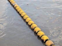 Buoyancy na rzece zdjęcie stock