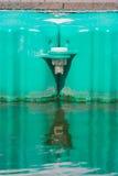 Buoyancy w jeziorze fotografia royalty free