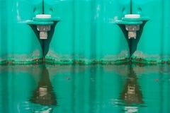 Buoyancy w jeziorze obrazy stock