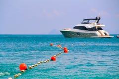 Buoyancy w morzu dla teren ochrony zdjęcie stock