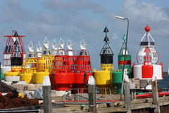Buoys Royalty Free Stock Photo