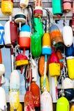 Buoys, Buoys, Buoys. Stock Photography