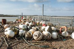 Buoys and floats Royalty Free Stock Photography