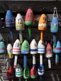 Buoys of Maine Stock Image