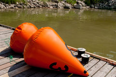 Buoys Stock Photo