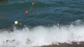 Buoys stock video footage