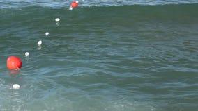 Buoys stock video