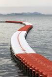 Buoys at sea Stock Image