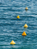Buoys to guide Stock Photos