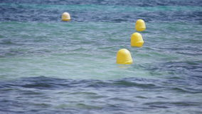 Buoys stock footage