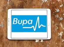 Bupa医疗保健公司商标 免版税库存图片