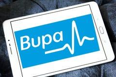 Bupa医疗保健公司商标 免版税库存照片