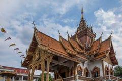 Bupa Lan寺庙在古城清迈,泰国 库存照片