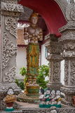 Bupa Lan寺庙在古城清迈,泰国 免版税图库摄影
