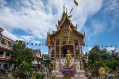 Bupa Lan Temple in der alten Stadt von Chiang Mai, Thailand Stockfotos