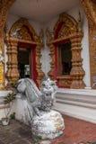 Bupa Lan Temple in der alten Stadt von Chiang Mai, Thailand Stockbilder