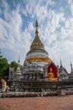 Bupa Lan Temple in der alten Stadt von Chiang Mai, Thailand Lizenzfreies Stockfoto