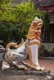 Bupa Lan Temple in der alten Stadt von Chiang Mai, Thailand Lizenzfreies Stockbild