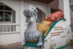 Bupa Lan Temple in der alten Stadt von Chiang Mai, Thailand Lizenzfreie Stockfotografie