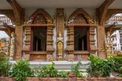 Bupa Lan Temple in der alten Stadt von Chiang Mai, Thailand Lizenzfreie Stockbilder