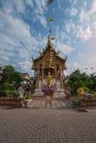 Bupa Lan Temple nella città antica di Chiang Mai, Tailandia Fotografie Stock Libere da Diritti