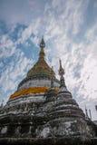 Bupa Lan Temple nella città antica di Chiang Mai, Tailandia Fotografia Stock Libera da Diritti