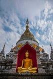 Bupa Lan Temple nella città antica di Chiang Mai, Tailandia Immagini Stock