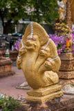 Bupa Lan Temple nella città antica di Chiang Mai, Tailandia Fotografia Stock