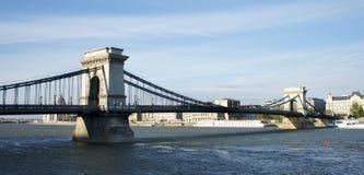 Bupadest - puente de cadena Fotos de archivo