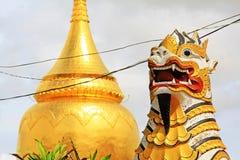 Bupaya塔, Bagan,缅甸 库存照片