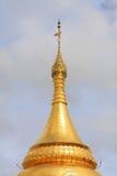 Bupaya pagod, Bagan, Myanmar Royaltyfria Foton